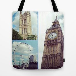 London Typical Tote Bag
