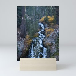 Evening Cascade (Kings Creek) Mini Art Print