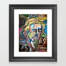 The Start Framed Art Print