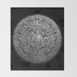 Aztec Cthulhu Throw Blanket