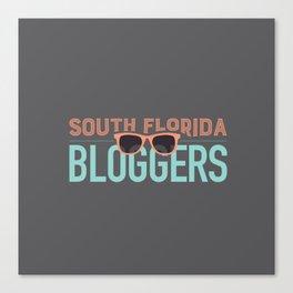 South Florida Bloggers Logo Canvas Print