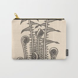 Nouveau Fiddleheads Carry-All Pouch