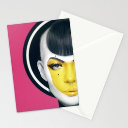 """""""YELL."""" Stationery Cards"""