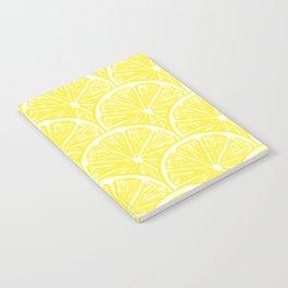 Lemon slices pattern design II Notebook