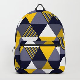 Stunning geometric colorful pattern Backpack