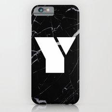 Black Marble - Alphabet Y Slim Case iPhone 6s