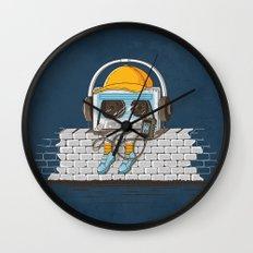 Oldschool Music Wall Clock