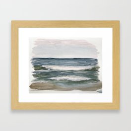 Jax Beach Framed Art Print