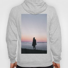 Camera Girl Above the Clouds Hoody