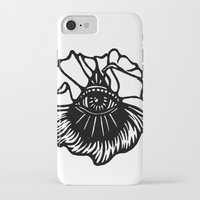 third eye iPhone & iPod Cases featuring Third Eye by Cecile Psicheer