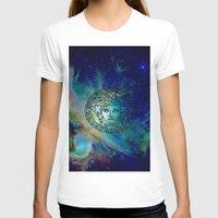 versace T-shirts featuring Versace Nebula  by RickyRicardo787