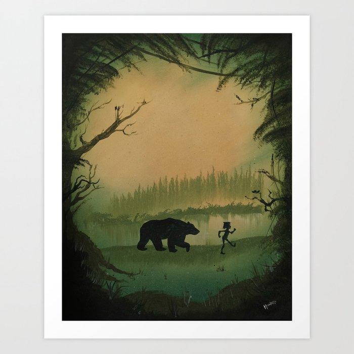 The Jungle Book by Rudyard Kipling Kunstdrucke