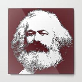 Karl Marx Metal Print