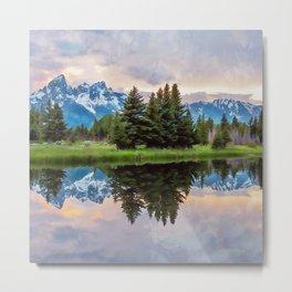 Wyoming, Grand Teton National Park Metal Print