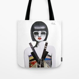 Moda Collage #7 Tote Bag