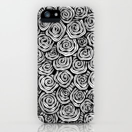 Spiral Doodle iPhone Case