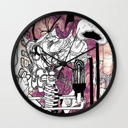 Missing Parts Wall Clock