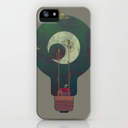 Nocturnal Pondering iPhone Case