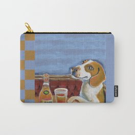 One Beagle, One Scotch, One Beer Carry-All Pouch