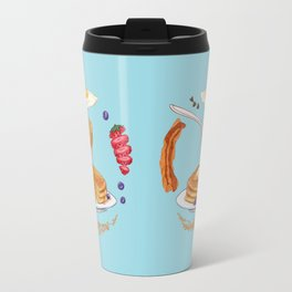 Pancake Mandala Travel Mug