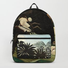 Henri Rousseau - Scouts Attacked by a Tiger Backpack