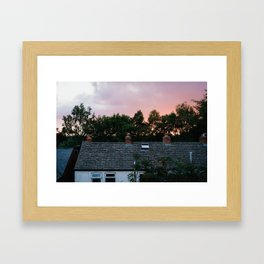 View from an English Window Framed Art Print