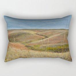 October in Grasslands National Park Rectangular Pillow