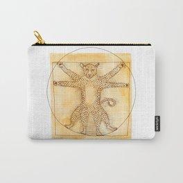 Leopardo da Vinci Carry-All Pouch