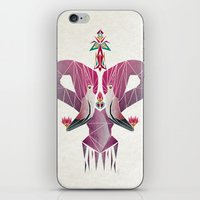 flamingo iPhone & iPod Skins featuring flamingo by Manoou