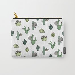 Cacti Sloths Carry-All Pouch