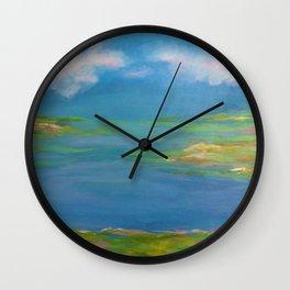 Spring Marsh Wall Clock