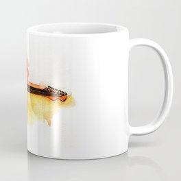 Watercolor guitar Coffee Mug