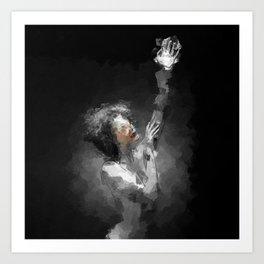 Dancingin the Light Art Print