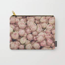 Flower Market 1 - Pink Roses  Carry-All Pouch