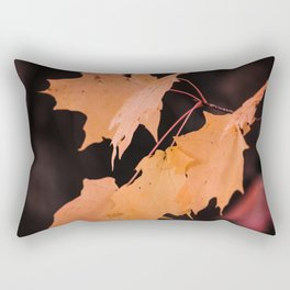 Colorful maple leaves Rectangular Pillow