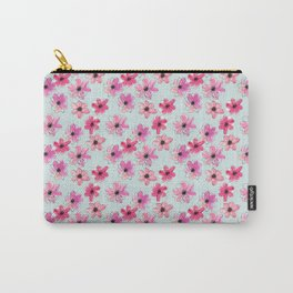 Floral hand painted pattern Carry-All Pouch