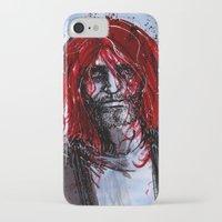 kurt cobain iPhone & iPod Cases featuring Kurt by Stewart Cook