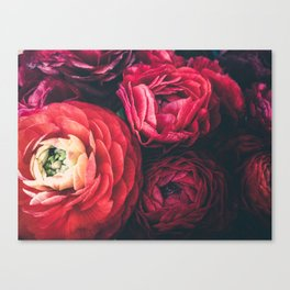 FLORAL WINTER Canvas Print