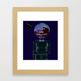 Brown Wig Productions  Framed Art Print