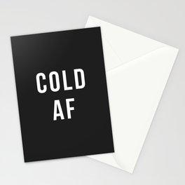 Cold AF Stationery Cards