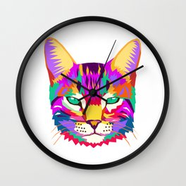art cat Wall Clock
