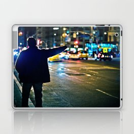 Can you see me / NYC / Taxi Laptop & iPad Skin