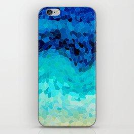 INVITE TO BLUE iPhone Skin
