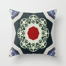 Dogmatic Claim Throw Pillow