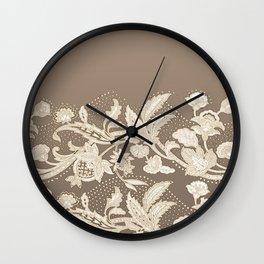 old lace border Wall Clock