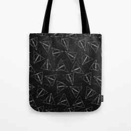 deathly hollow pattern Tote Bag