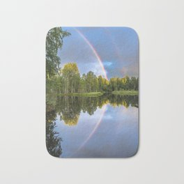 Rainbows: The gift from heaven to us all Bath Mat
