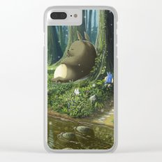 Totoro and Mei Clear iPhone Case