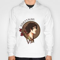 grantaire Hoodies featuring grantaire by chazstity