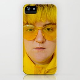 Jo in yellow iPhone Case